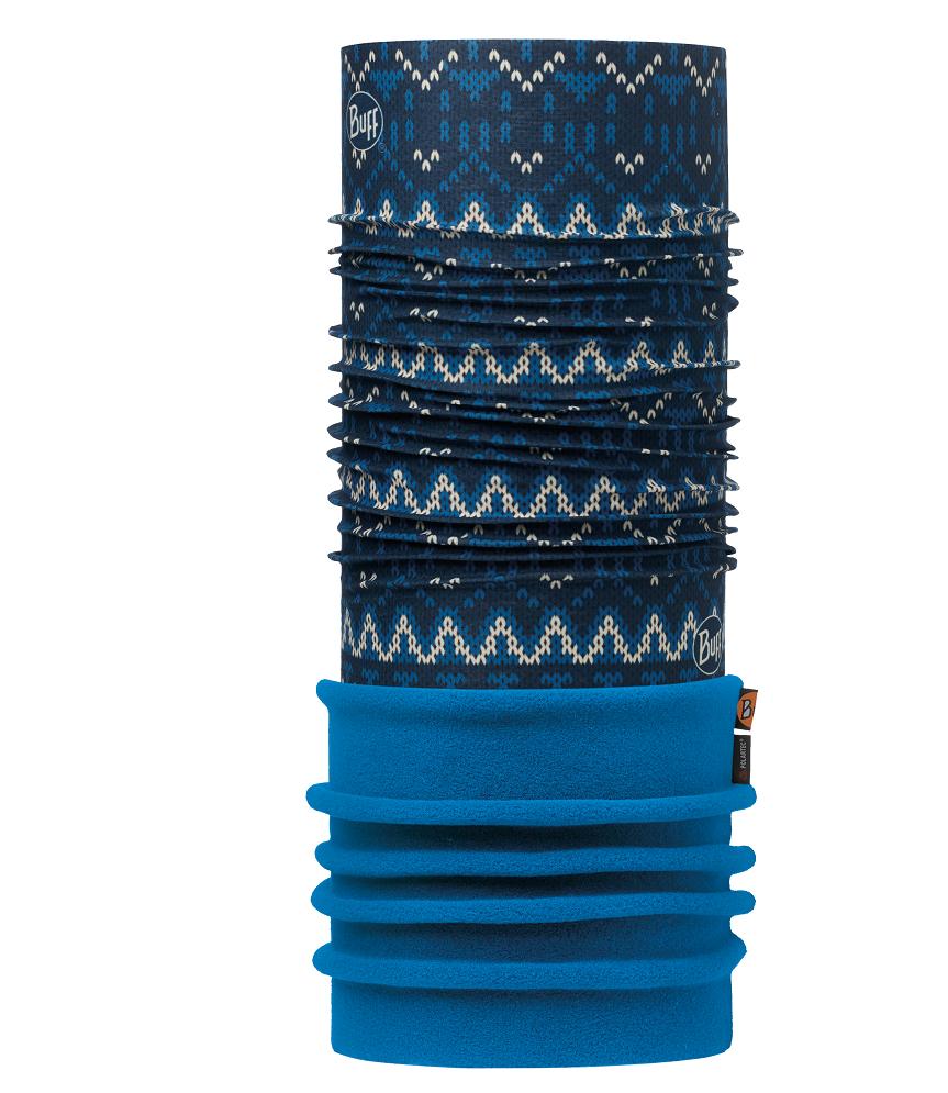 Купить Бандана BUFF POLAR KNIT DARK NAVY / HARBOR-DARK NAVY-Standard/OD Банданы и шарфы Buff ® 1343593