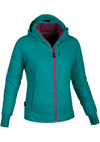 Купить Куртка туристическая Salewa MOUNTAINEERING ALPINDONNA THEOREM PRL W JKT teal/6150, Одежда туристическая, 1022073