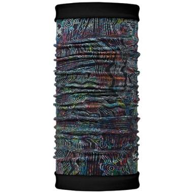 Купить Бандана BUFF REVERSIBLE POLAR SIDNEY / BLACK Банданы и шарфы Buff ® 1079484