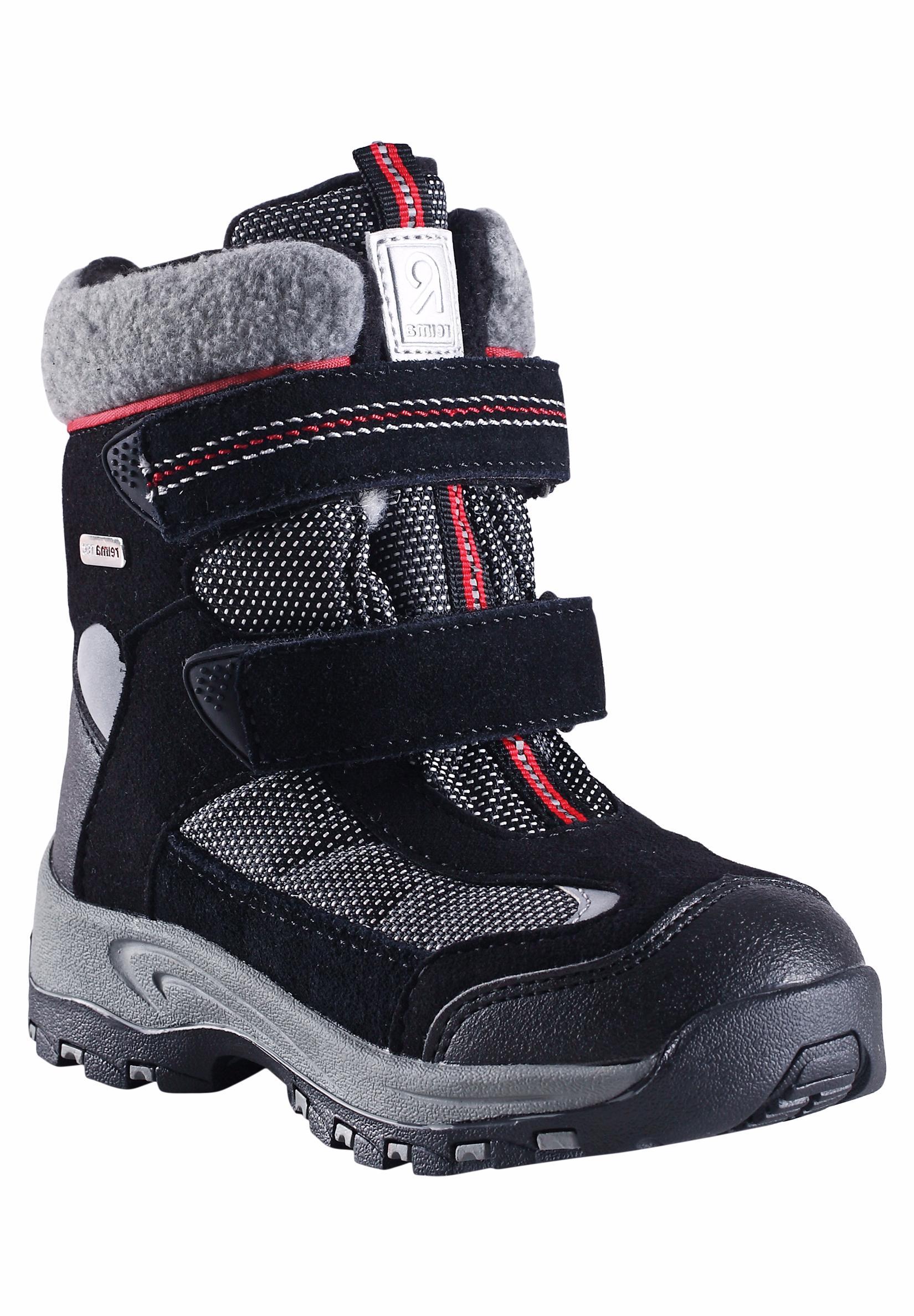 Купить Ботинки городские (высокие) Reima 2016-17 KINOS ЧЕРНЫЙ Обувь для города 1274403