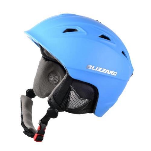 Зимний Шлем Blizzard Demon Neon Blue Matt