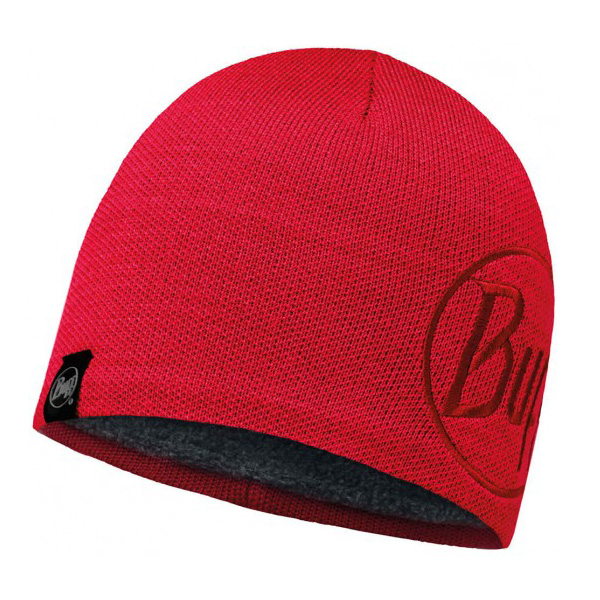 Купить Шапка BUFF ACTIVE COLLECTION KNITTED & POLAR HAT SOLID LOGO RED SAMBA Банданы и шарфы Buff ® 1263144