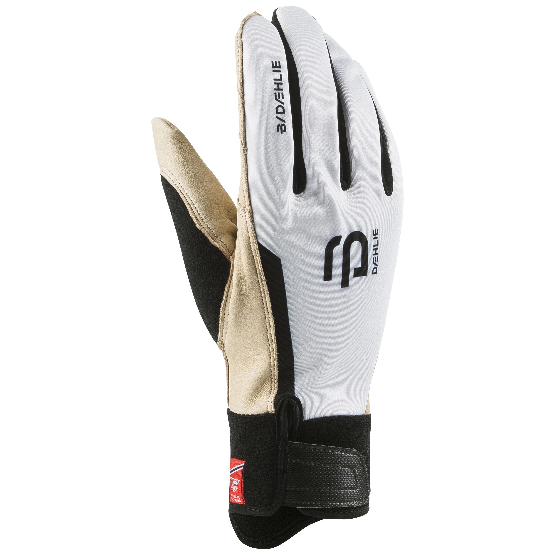 женские перчатки bjorn daehlie, белые