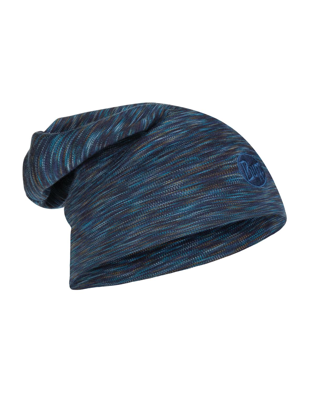 Купить Шапка BUFF HEAVYWEIGHT MERINO WOOL HAT DENIM MULTI STRIPES Головные уборы, шарфы 1378132