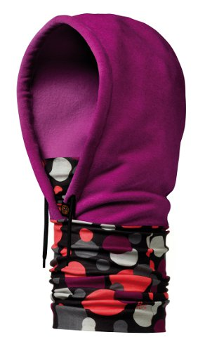 Купить Бандана BUFF HOODIE DOTS MARDI GRAPE Банданы и шарфы Buff ® 842263