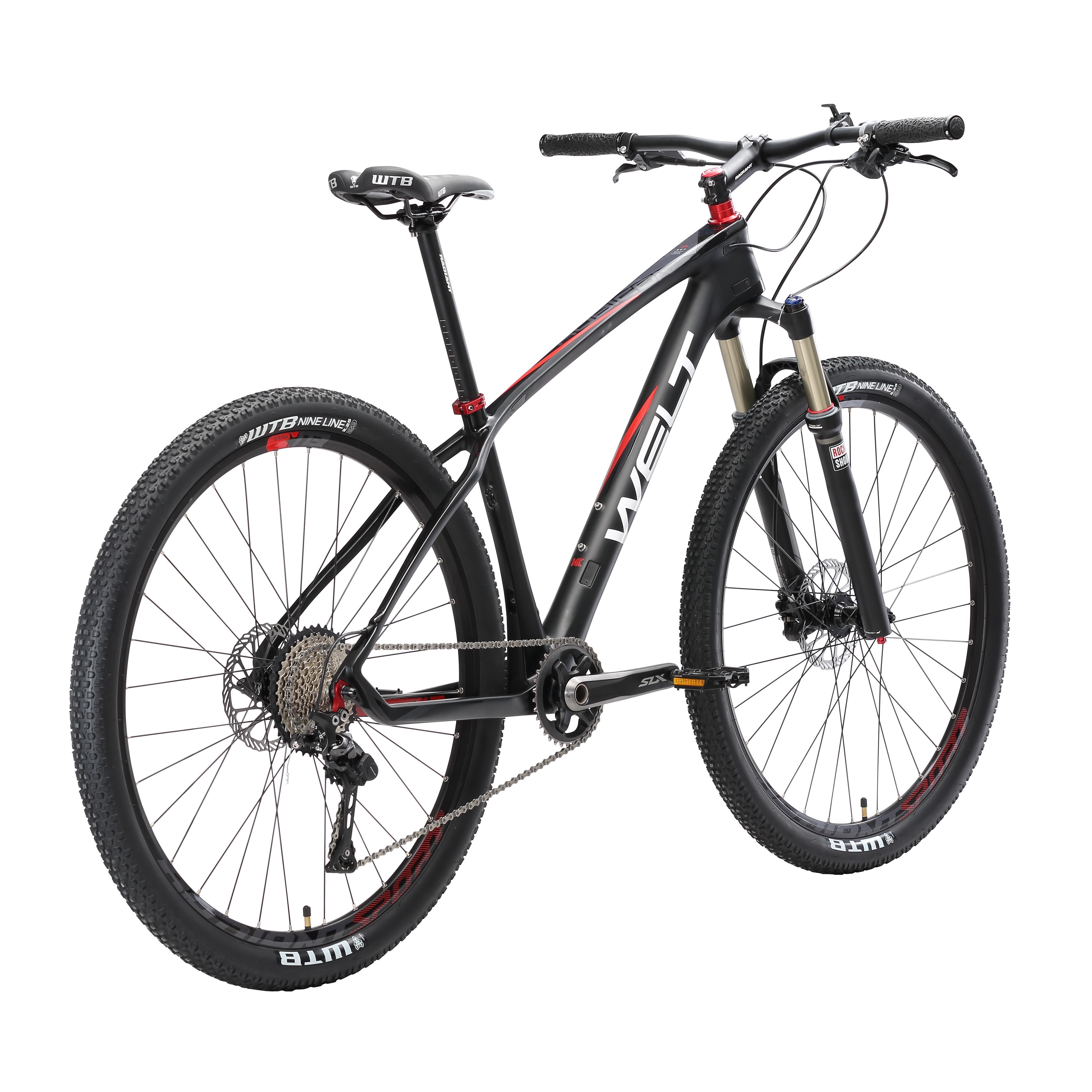 Велосипед Welt 2018 Rubicon 2.0 C Matt Black/polish Black