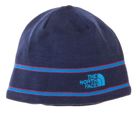 Шапка THE NORTH FACE 2012-13 THE NORTH FACE LOGO BEANIE (Deep water blue) синий