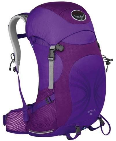 женский рюкзак osprey, фиолетовый