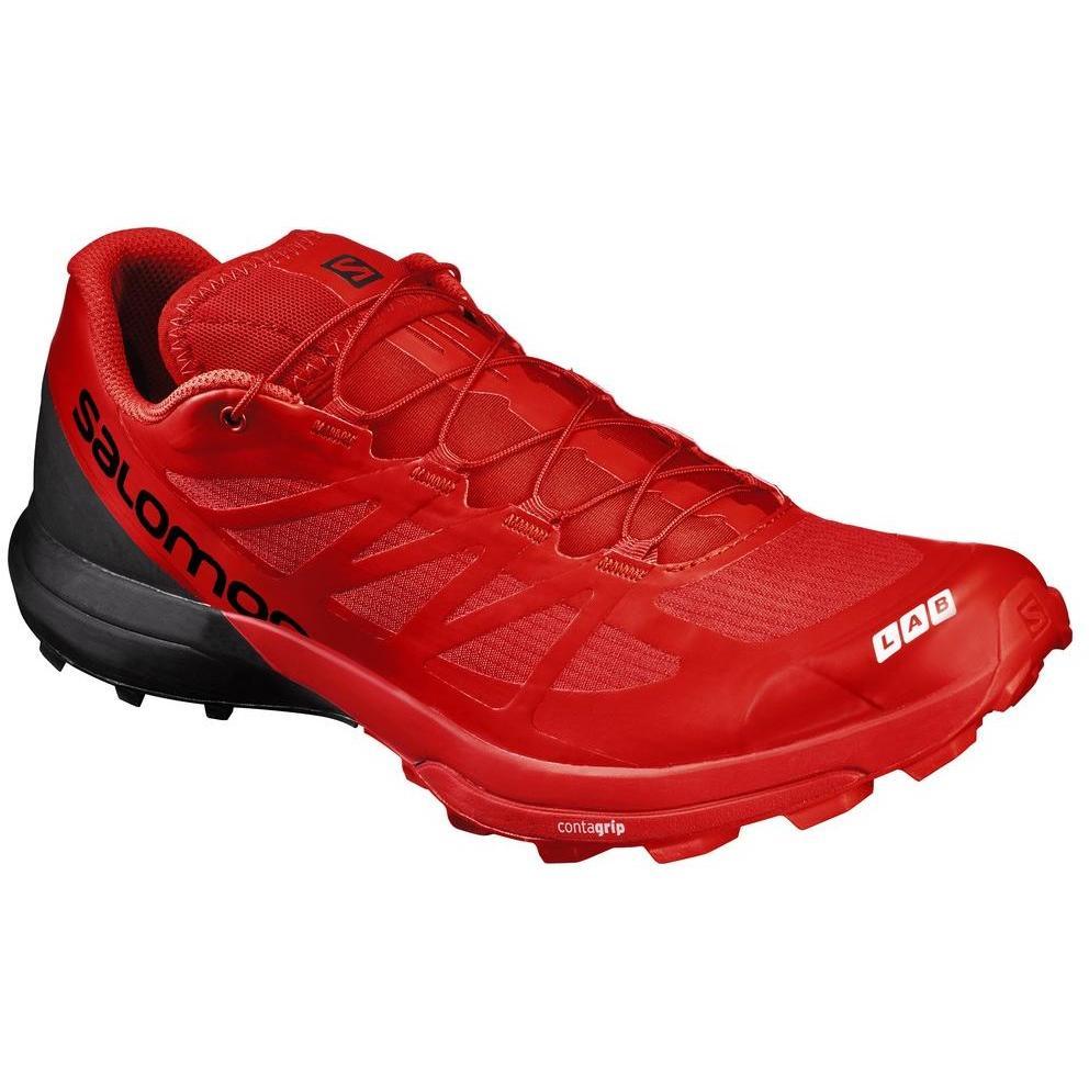 Купить Беговые кроссовки для XC SALOMON 2018 S/LAB SENSE 6 SG Racing Rd/Black/Wht, Кроссовки бега, 1400224