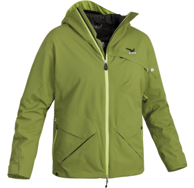Купить Куртка горнолыжная Salewa Ski MORPH PTX M JKT ivy Одежда 836891