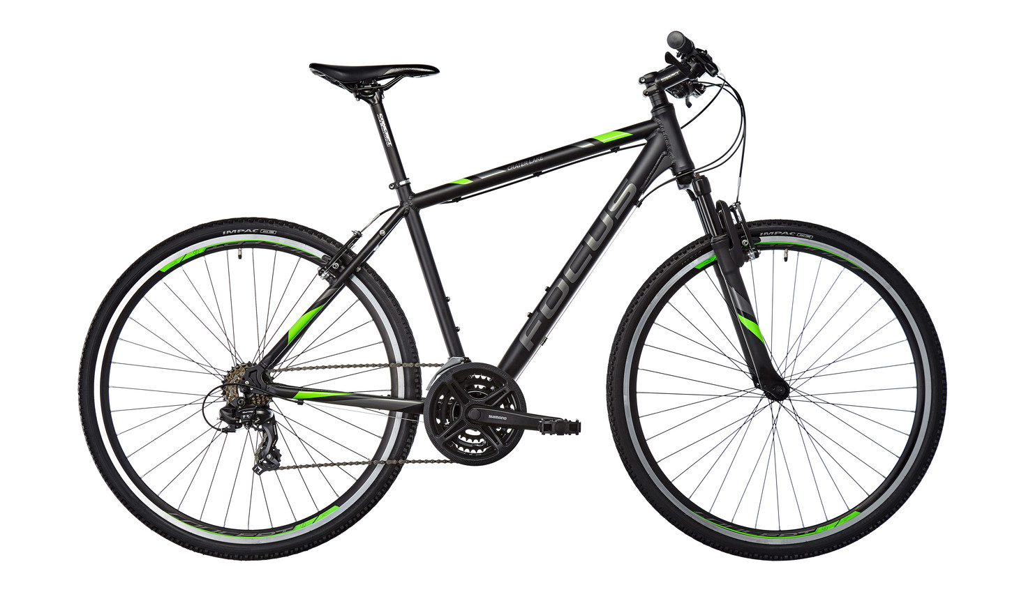 Велосипед Focus Crater Lake Elite 2017 Magicblack Matt