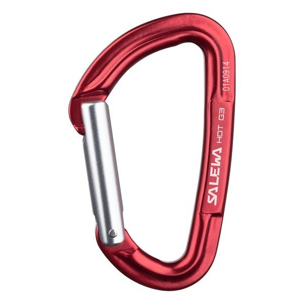 Купить Карабин Salewa 2018 HOT G3 STRAIGHT CARABINER RED, Карабины, 1205352
