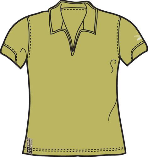 Поло для активного отдыха Salewa 5 Continents ITZA 5C DRY S/S W TEE (kiwi) зеленый Одежда туристическая 374719  - купить со скидкой