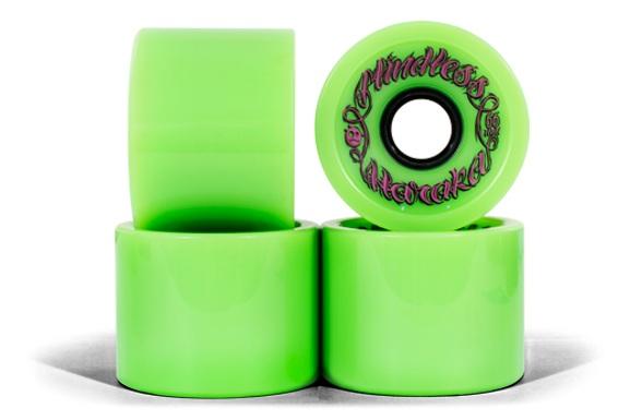 Колеса (4 Штуки) Для Лонгборда Mindless 2017 Haraka Wheels Green