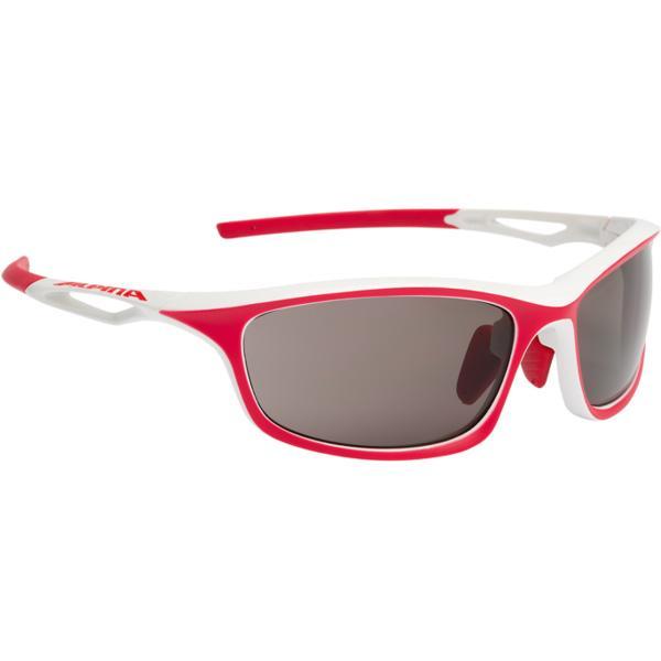 Купить Очки солнцезащитные Alpina PERFORMANCE SORCERY C+ white-red matt/black fogstop S3, солнцезащитные, 1131689