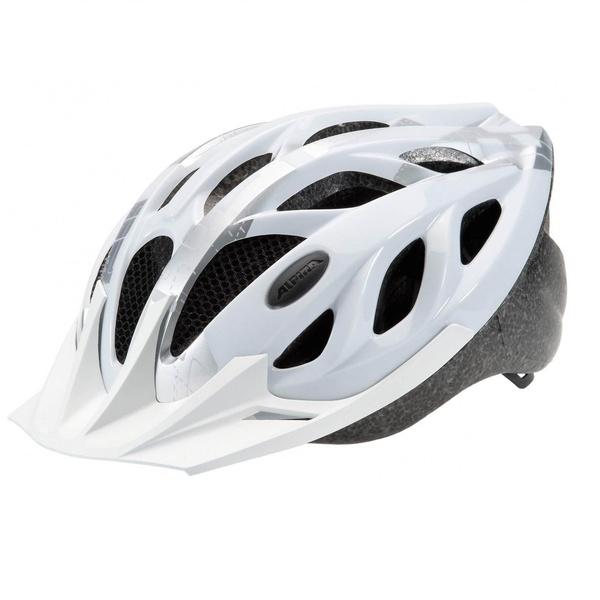 Купить Летний шлем Alpina SMU SOMO Tour 3 white-silver, Шлемы велосипедные, 1180263