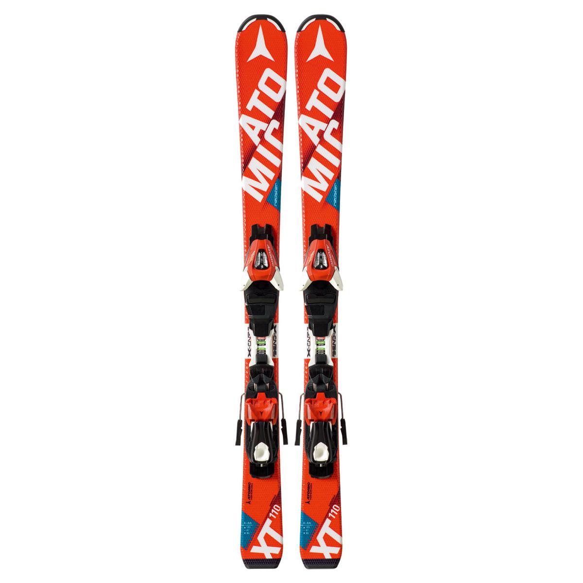 Купить Горные лыжи с креплениями Atomic 2015-16 REDSTER JR II & XTE 045, лыжи, 1195390