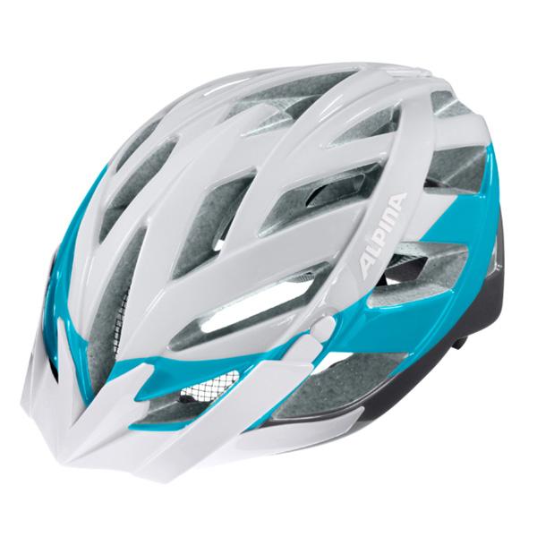 Купить Летний шлем Alpina 2017 Panoma white-blue-titanium, Шлемы велосипедные, 1254727