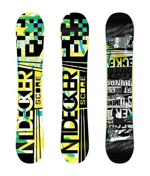 Сноуборд NIDECKER Score 2012-13 - купить недорого, цены в магазине КАНТ a01a2410474
