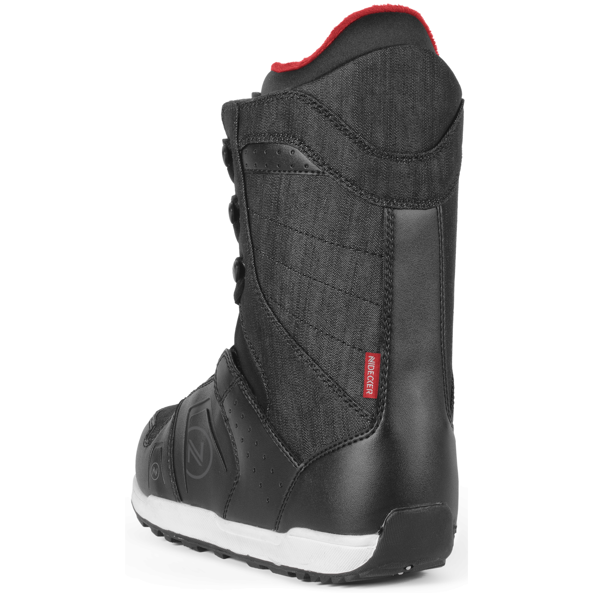 9c88b4ab63a6 Ботинки для сноуборда NIDECKER 2017-18 CHARGER LACE BLACK - купить ...
