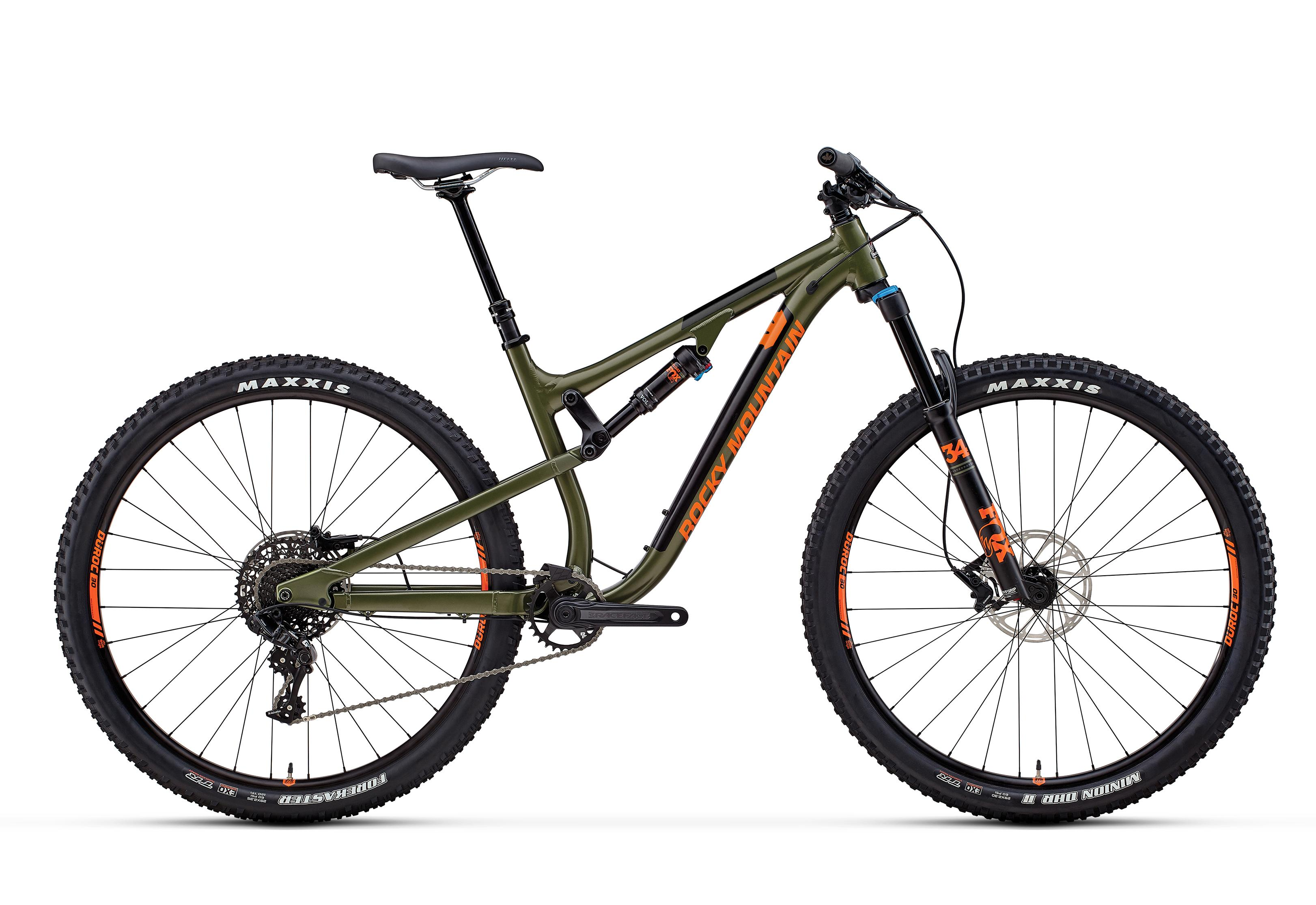 Велосипед Rocky Mountain Instinct Alloy 50 2018 Green/orange