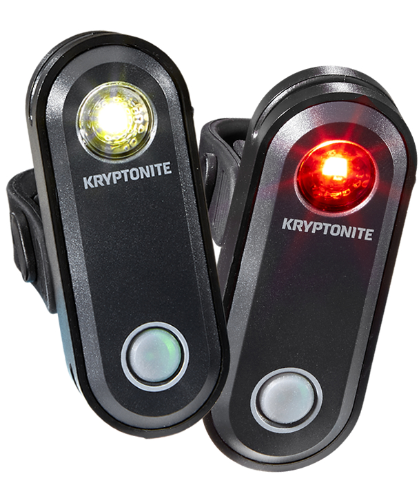 Фонари (Комплект) Kryptonite Avenue F-65 & R-30 Set