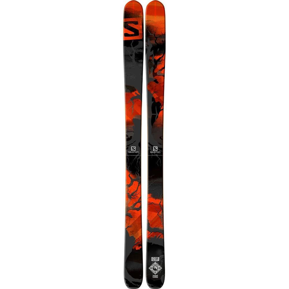 Купить Горные лыжи SALOMON 2014-15 All-Mount. Backside N Q-98 Black/Red, лыжи, 1141166