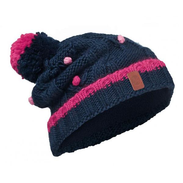 Шапка Buff Junior Knitted & Polar Hat Buff Dysha Dark Navy