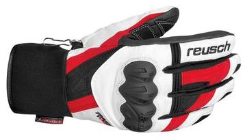 Купить Перчатки горные REUSCH 2012-13 RACE-TEC 12 Training R-TEX XT white/fire red Перчатки, варежки 855408