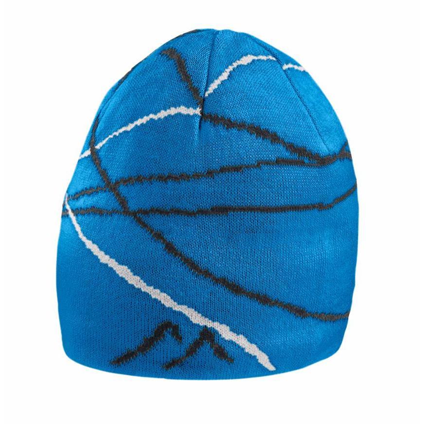 женская шапка maier, синяя