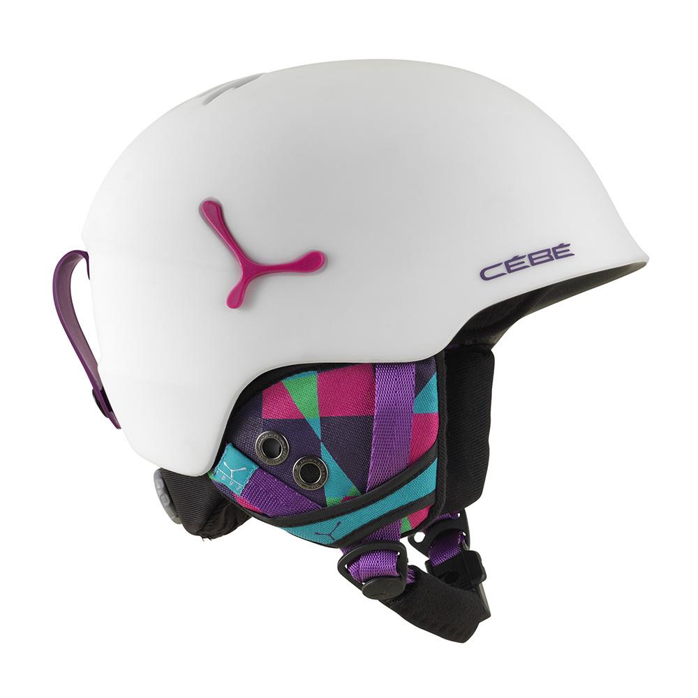 Купить Зимний Шлем CEBE 2017-18 SUSPENSE MATTE WHITE GRAPHICS, Шлемы для горных лыж/сноубордов, 1307605