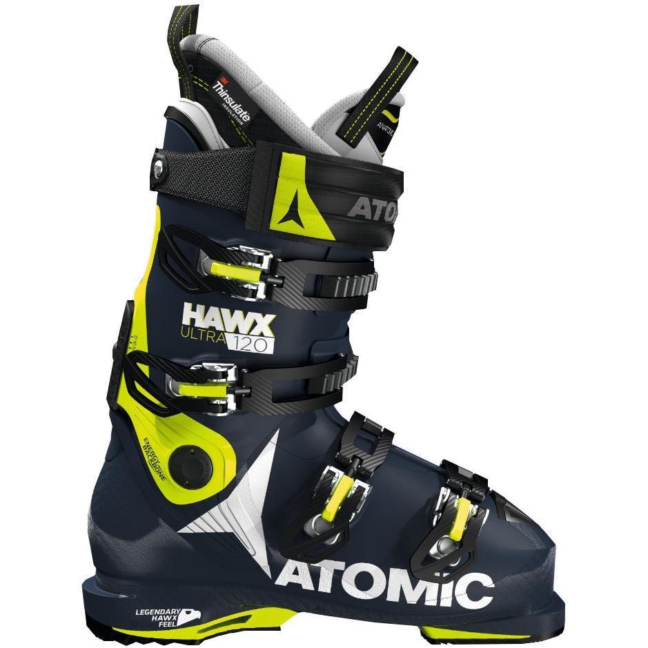 291c28ba6403 Горнолыжные ботинки Atomic 2017-18 HAWX ULTRA 120 Dark Blue Lime Bl ...