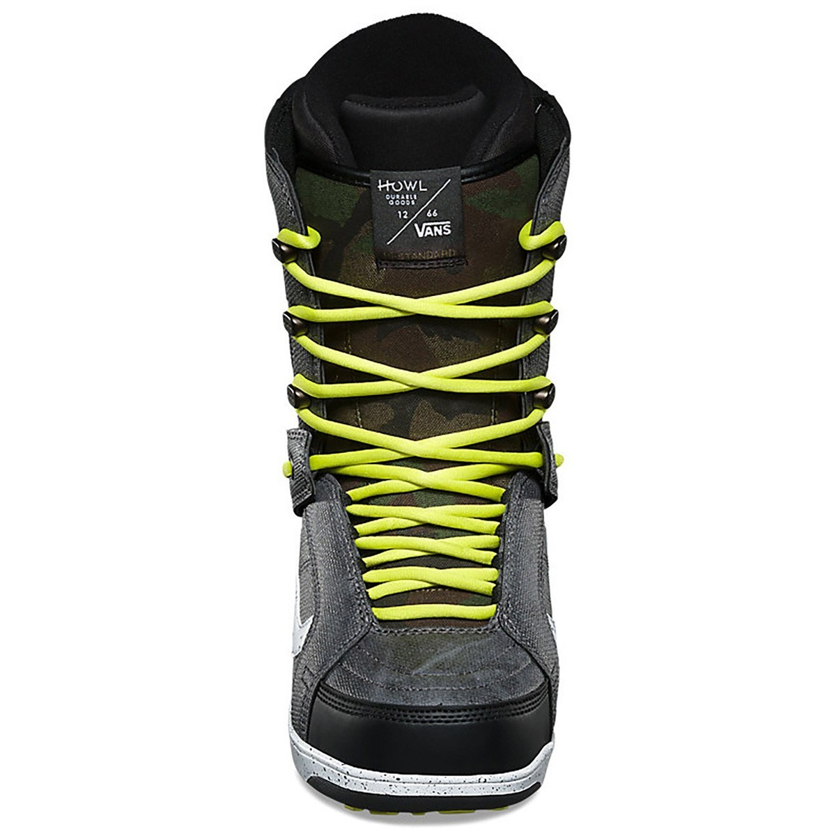 Ботинки Для Сноуборда Vans 2017-18 Mn Hi-Standard (Howl) Black