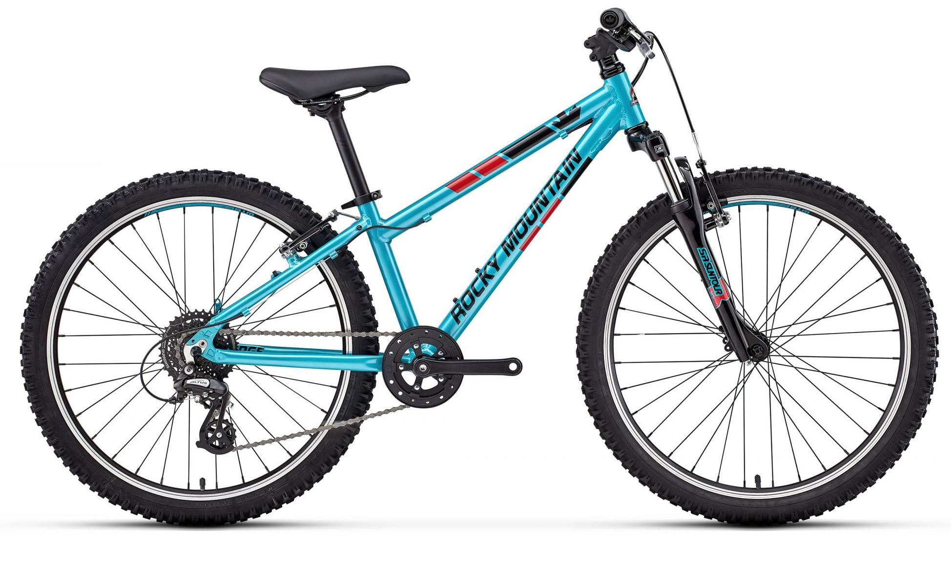 Велосипед Rocky Mountain Edge 24 2018 Blue/red
