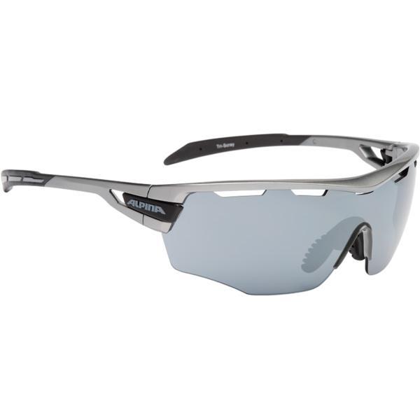 Купить Очки солнцезащитные Alpina PERFORMANCE TRI-SCRAY SHIELD tin-black/black mirror S3 / clear S0 orange S2 1131712