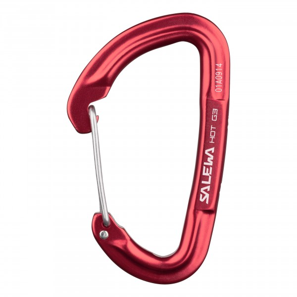 Карабин Salewa 2018 Hot G3 Wire Carabiner Red