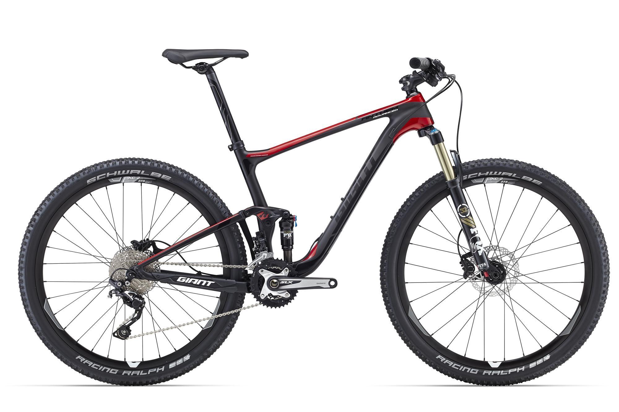 Купить Велосипед Giant Anthem Advanced 27.5 2 2016 Comp/Red, Двухподвесы, 1262283