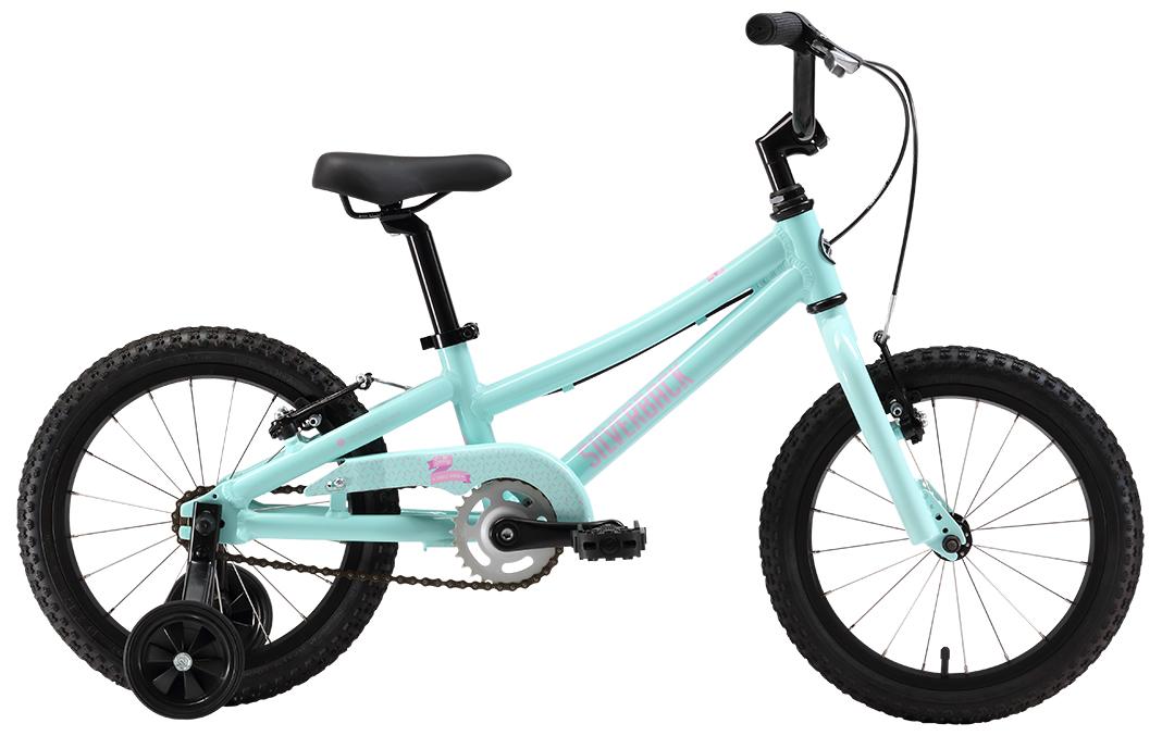 Купить Велосипед Silverback SALLY 4.6 SS 2017 Аквамарин/Розовый/Белый, До 6 лет (колеса 12 -18 ), 1321983