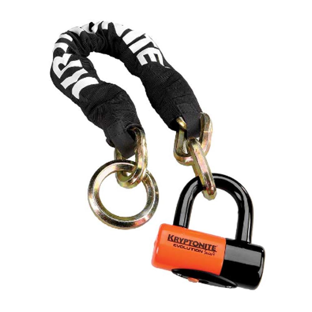 Замок Велосипедный Kryptonite Chains York Noose 1275 (12Mm X 75Cm) With Evs4 Disc 14Mm Shackle -
