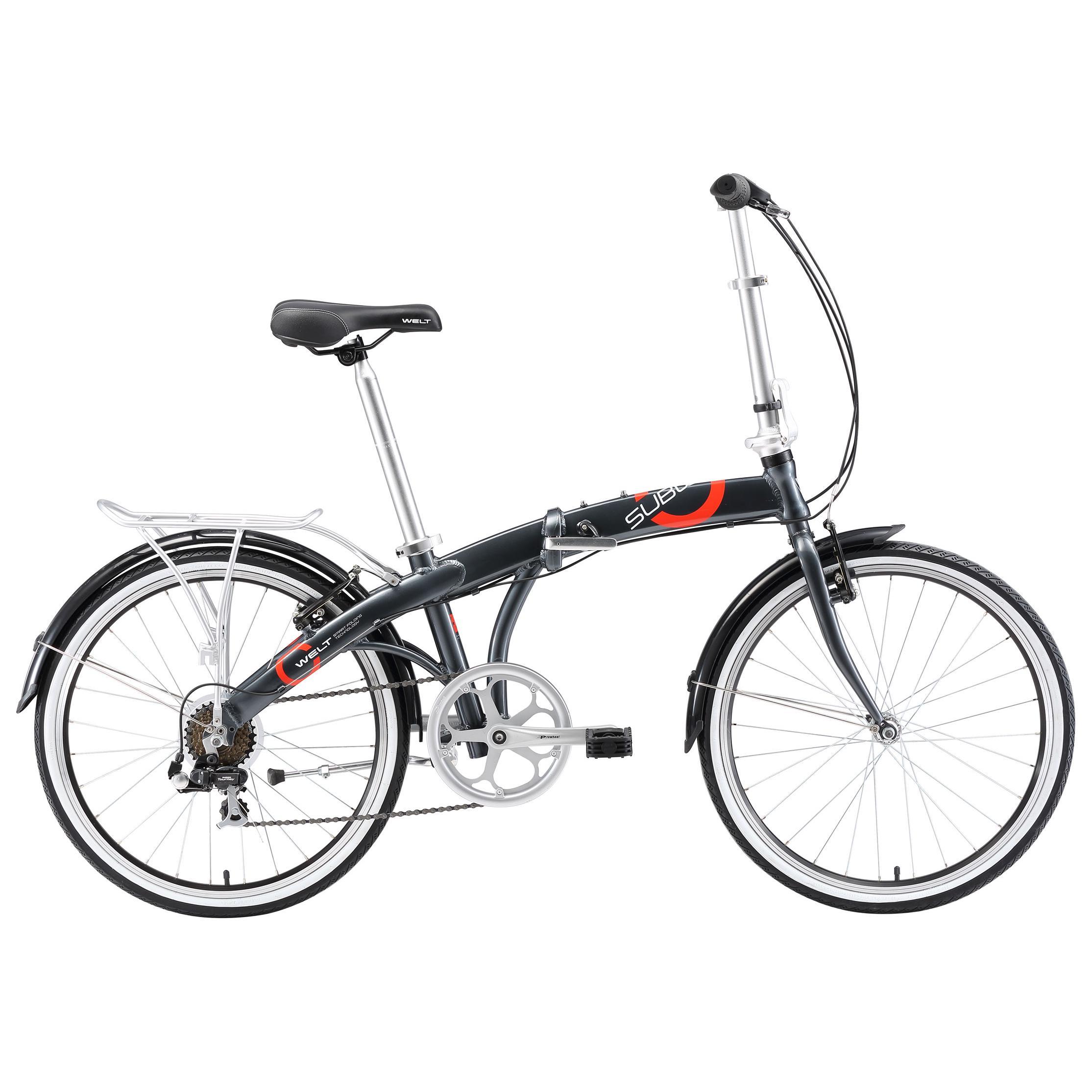 Купить Велосипед Welt 2018 Subway 24 grey Складные велосипеды 1357122