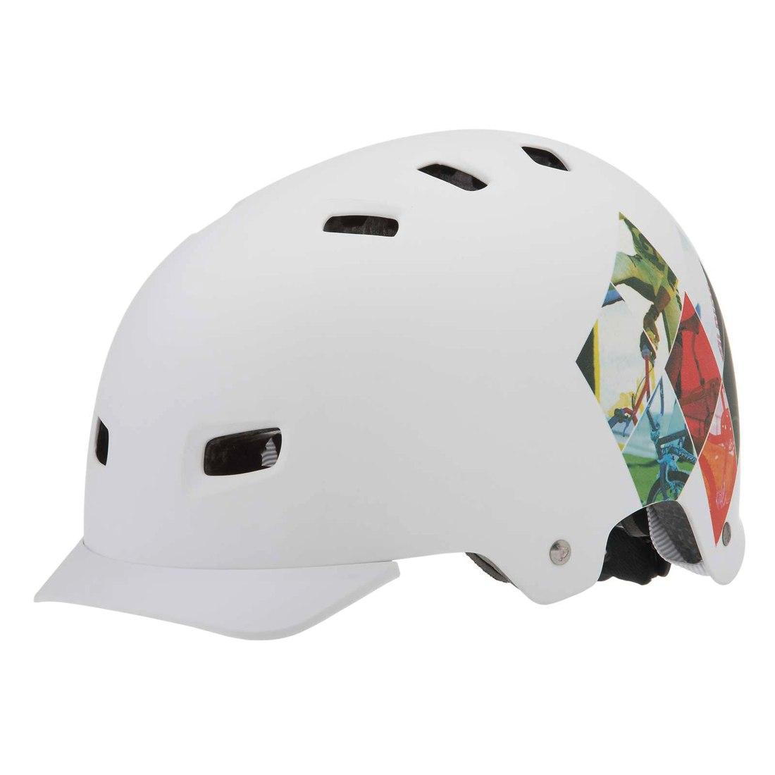 Летний Шлем Alpina 2017 Alpina Park White Print