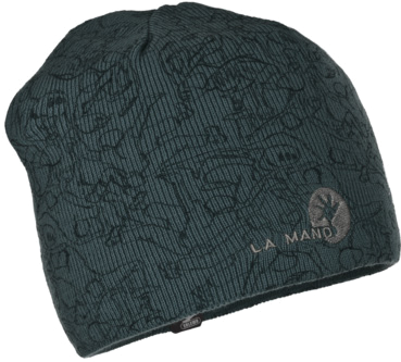 Шапка Salewa SAG LM KN BEANIE carbon/all over