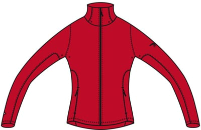 Куртка туристическая Salewa Alpine Active DINA PTC W JKT red/acc.0900