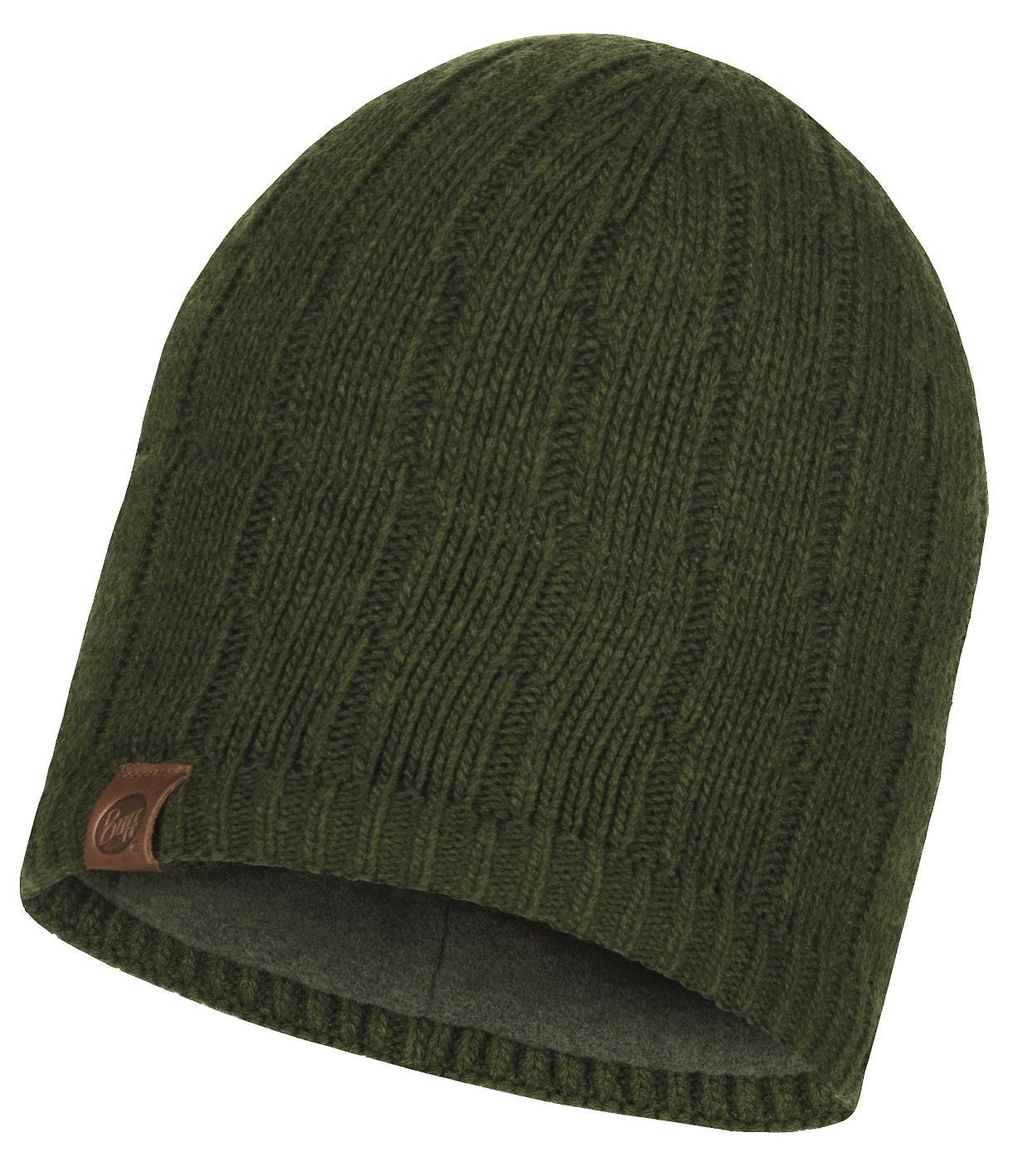Шапка Buff Knitted & Polar Hat Jeroen Military