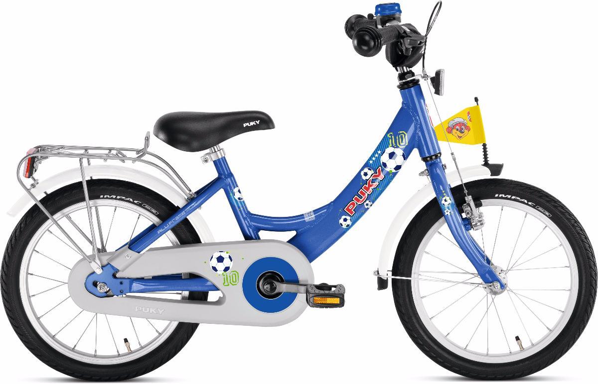 Велосипед Puky Zl 16-1 Alu 2016 Blue Football
