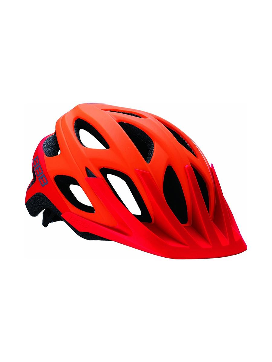Купить Велошлем BBB 2018 Varallo оранжевый матовый/красный, Шлемы велосипедные, 1213071