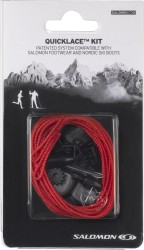 Шнурки SALOMON Accessories QUICKLACE KIT RED