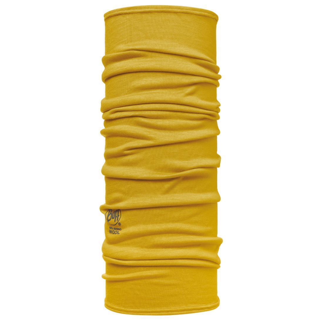 Бандана BUFF Wool Plain WOOL GOLDEN PALM Банданы и шарфы Buff ® 1079873  - купить со скидкой