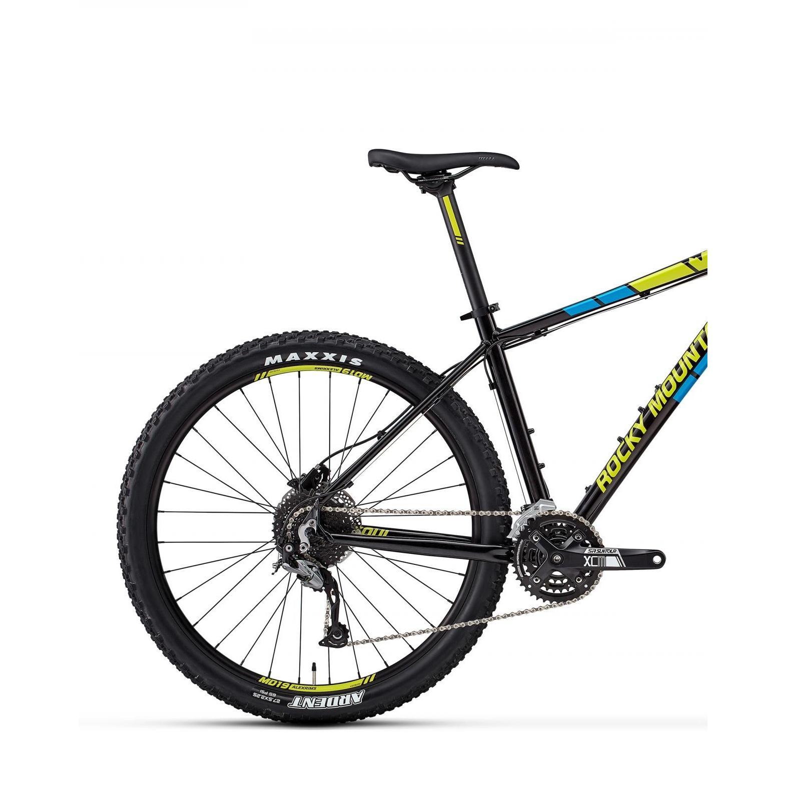 Велосипед Rocky Mountain Soul 20 2018 Black/green