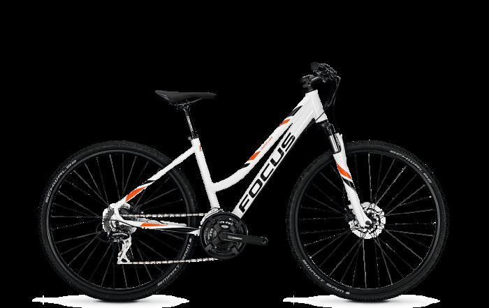 Велосипед Focus Crater Lake Evo 2018 White